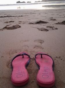 pink sandal